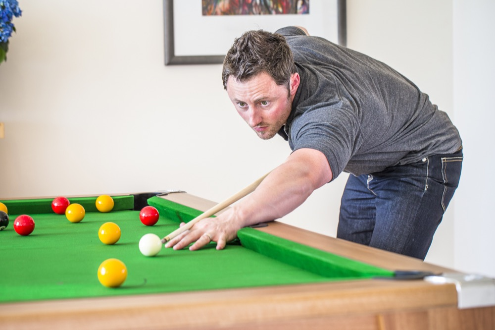 Playing pool improves your life skills