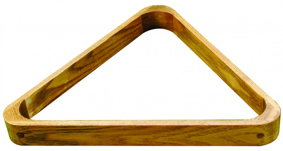 Wooden Pool Triangle
