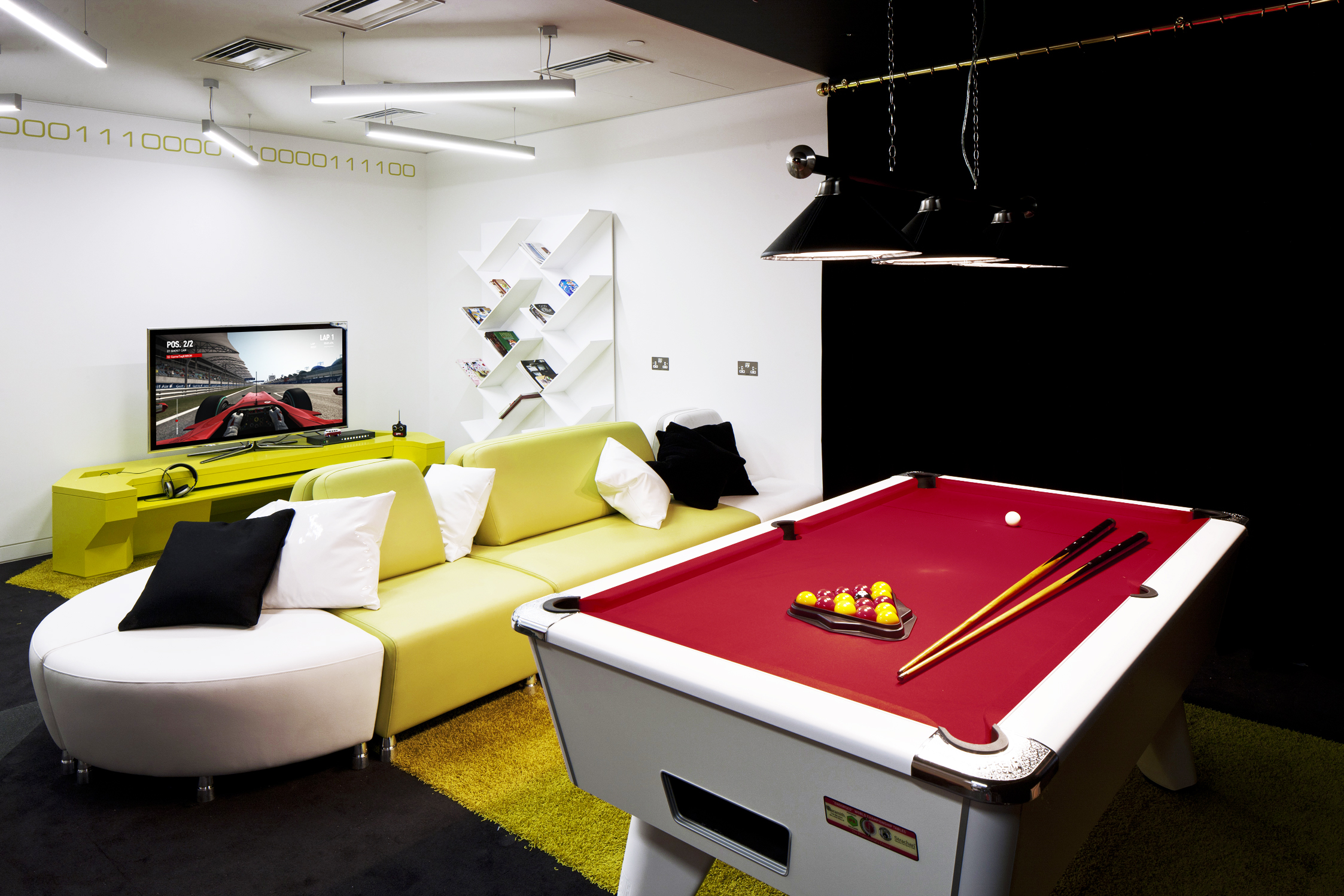 The pool table at Google's London Victoria HQ