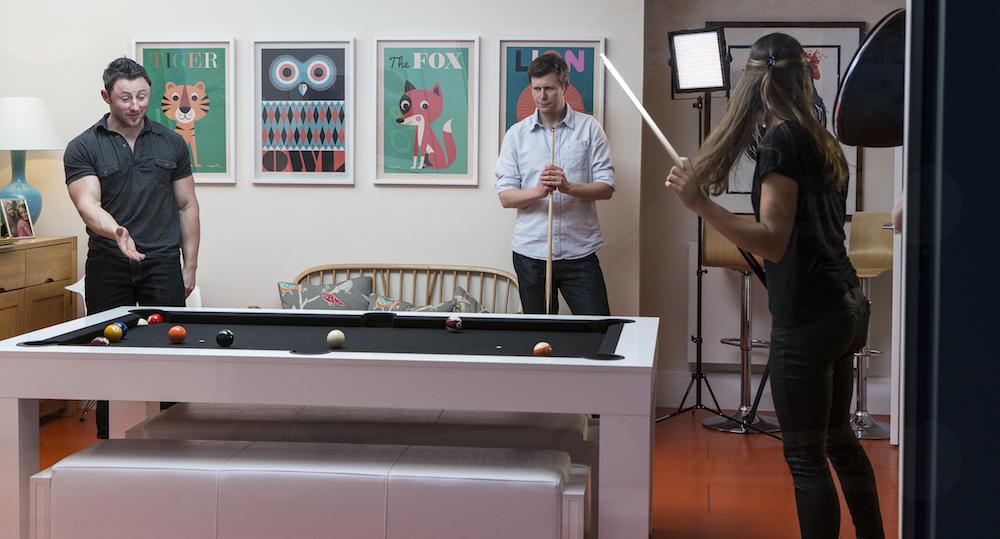Home pool tournament