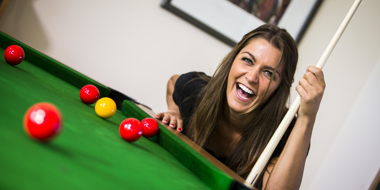 Pool table services from Kingswood Leisure.