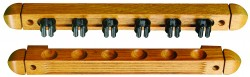 2 Piece Wood Cue Rack