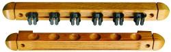 2 Piece Wood Cue Rack