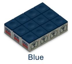 Silver Cup Billiard Chalk (Blue)