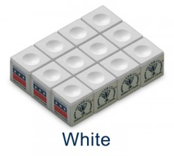 Silver Cup Billiard Chalk (White)