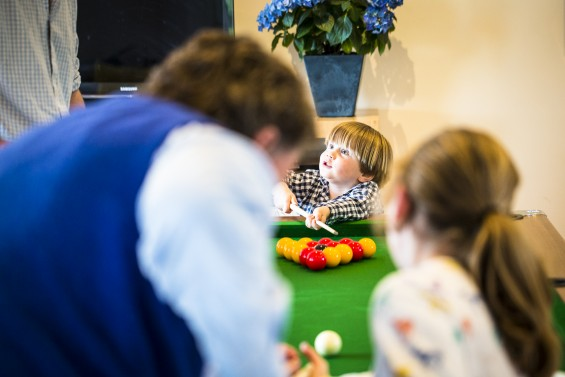 Pool table look book for the family space