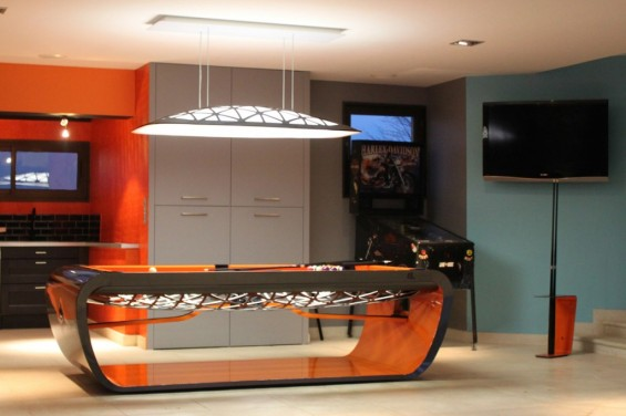 Billards Toulet Blacklight pool table from Kingwood