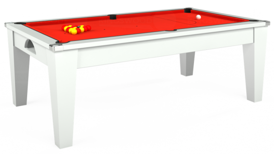 avant garde pool table with Hainsworth Smart cloth in Orange