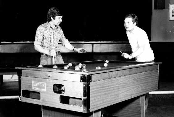 One of the early Kingwood pool tables