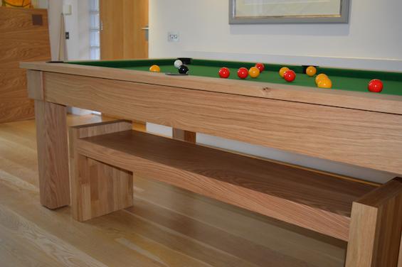 Kingswood Oak 6ft pool dining table