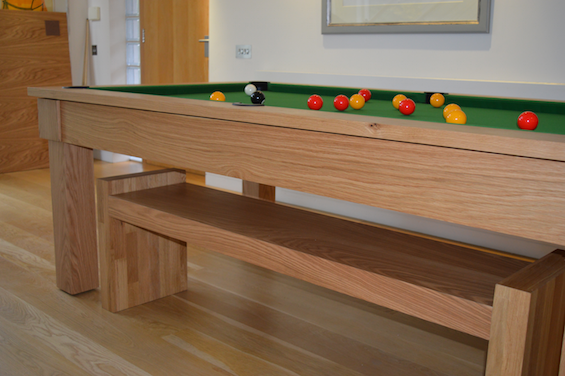 Kingswood Oak 6ft pool dining table