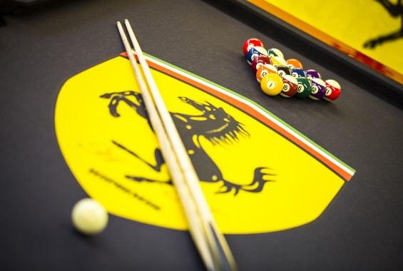 Pool table custom cloth printing