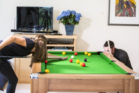 pool table look book for your first home