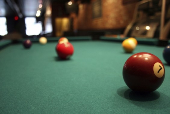 Reconditioned pub pool tables