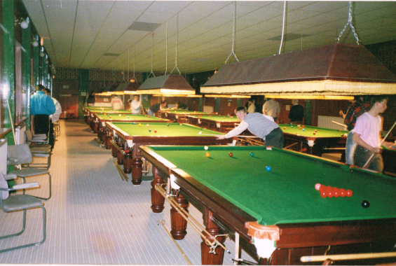 The Kingwood pool hall in Wolverhampton