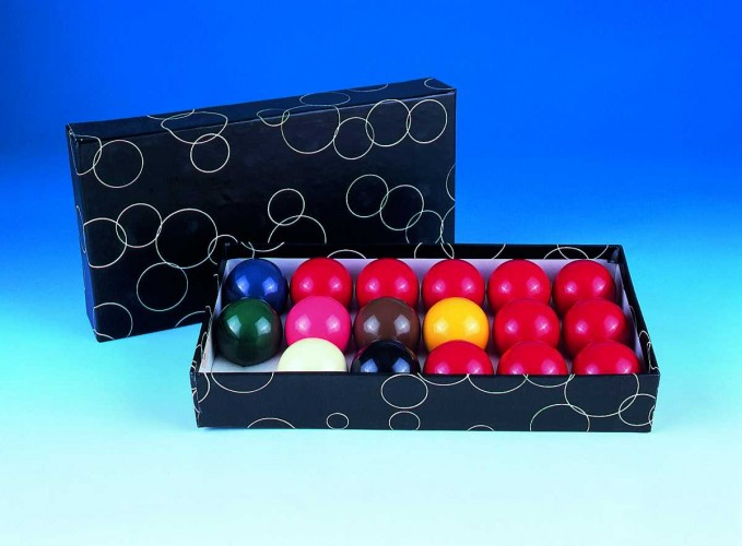 Standard Set Snooker Balls