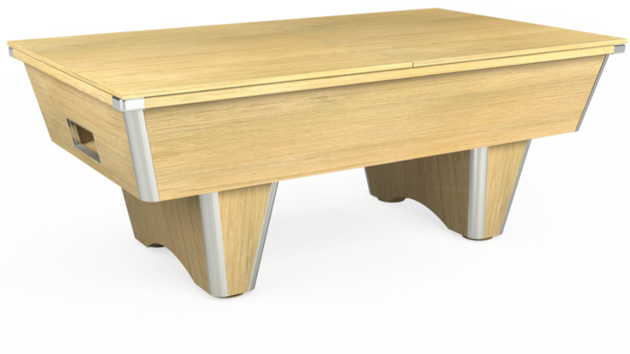 Elite free play table with light oak solid top