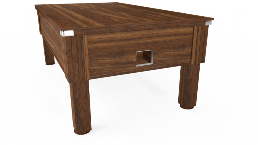 Emirates free play with dark walnut solid top