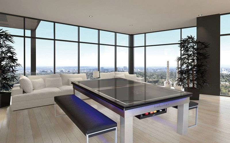 Le Lambert Pool Dining Table in white