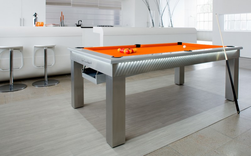 Le Lambert Pool Dining Table in playing mode