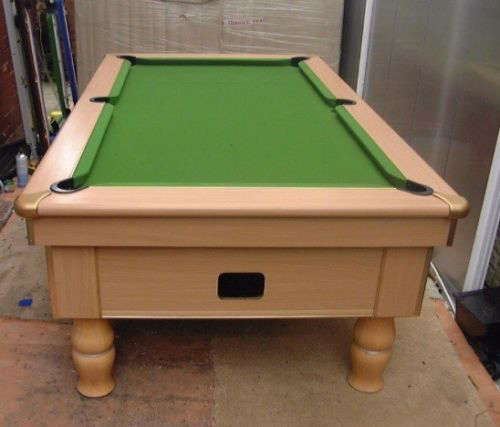 Excel Spirit Pool Table End View