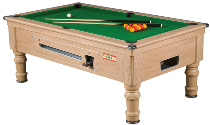 Supreme Prince Oak Reconditioned Pool Table Model