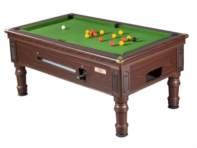 Supreme Prince Rosewood Reconditioned Pool Table Model