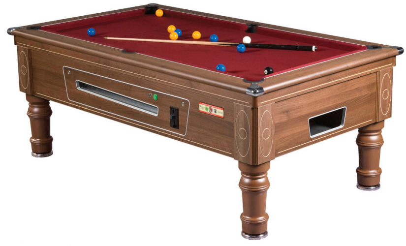 Supreme Prince Walnut Reconditioned Pool Table Model