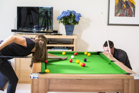 Affordable but stylish pool dining tables