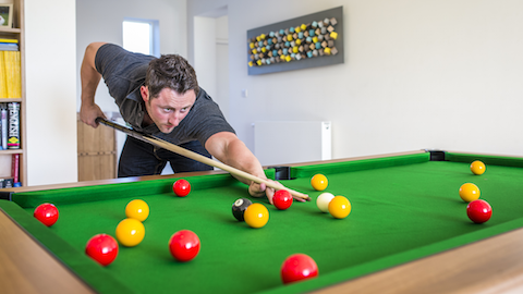 delivery and installation of Kingwood pool tables
