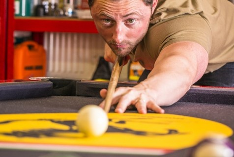 Pool tables for your man cave