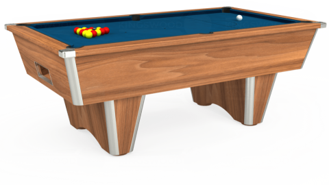 7ft Elite Free Play in Light Walnut with Hainsworth Smart Slate cloth