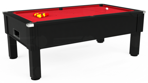 7ft Emirates Free Play in Black with Standard Red cloth