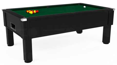 7ft Emirates Free Play in Black with Hainsworth Elite-Pro Spruce cloth