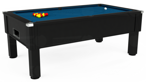 7ft Emirates Free Play in Black with Hainsworth Smart Slate cloth
