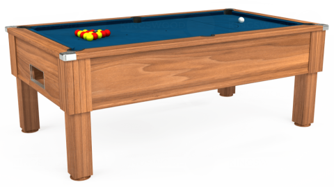 7ft Emirates Free Play in Light Walnut with Hainsworth Smart Slate cloth