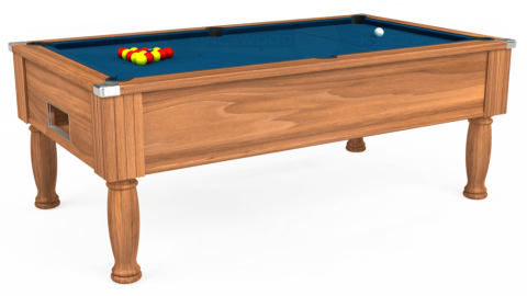 7ft Monarch Free Play in Light Walnut with Hainsworth Smart Slate cloth