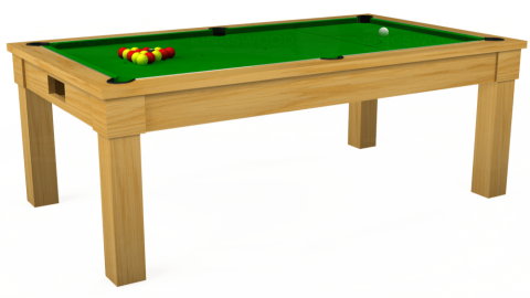 Reconditioned Kingswood Oak Pool Dining Table