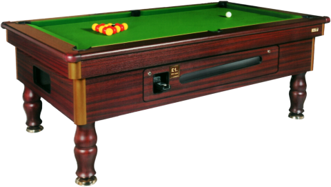 EXCEL REGENT RECONDITIONED POOL TABLE