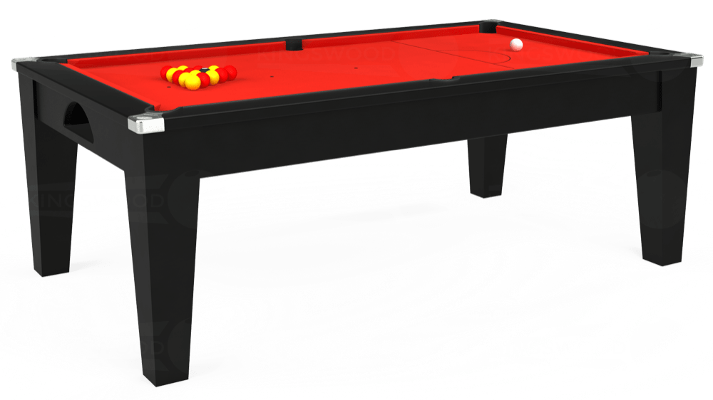 7ft avant guarde pool table in black
