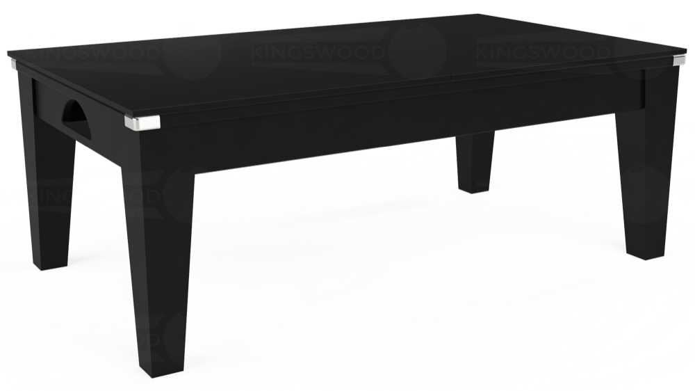 7ft Avant Guarde Pool Dining Table in Black with Hainsworth Smart Royal Navy cloth delivered and installed - £1,140.00