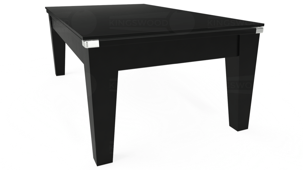 7ft Avant Guarde Pool Dining Table in Black with Hainsworth Smart Sage cloth delivered and installed - £1,140.00