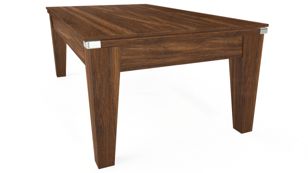 7ft Avant Guarde Pool Dining Table in Dark Walnut with Hainsworth Smart Royal Navy cloth delivered and installed - £1,140.00