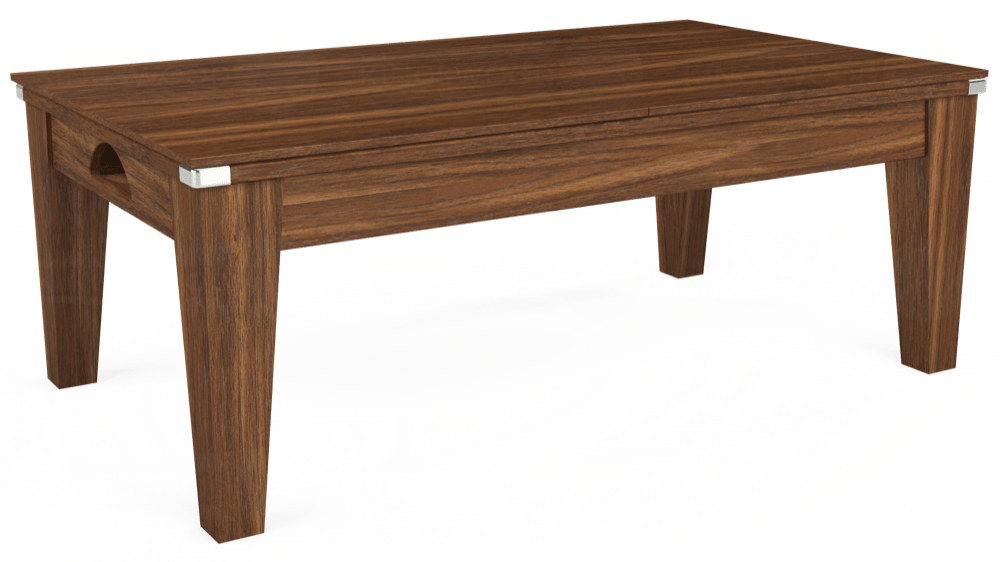 7ft Avant Guarde Pool Dining Table in Dark Walnut with Hainsworth Smart Sage cloth delivered and installed - £1,140.00