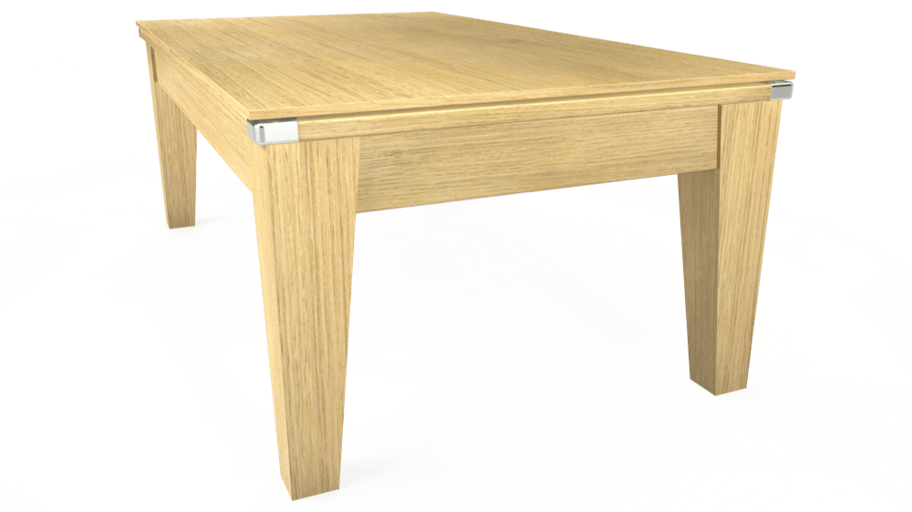 7ft Avant Guarde Pool Dining Table in Light Oak with Standard Green cloth delivered and installed - £1,040.00
