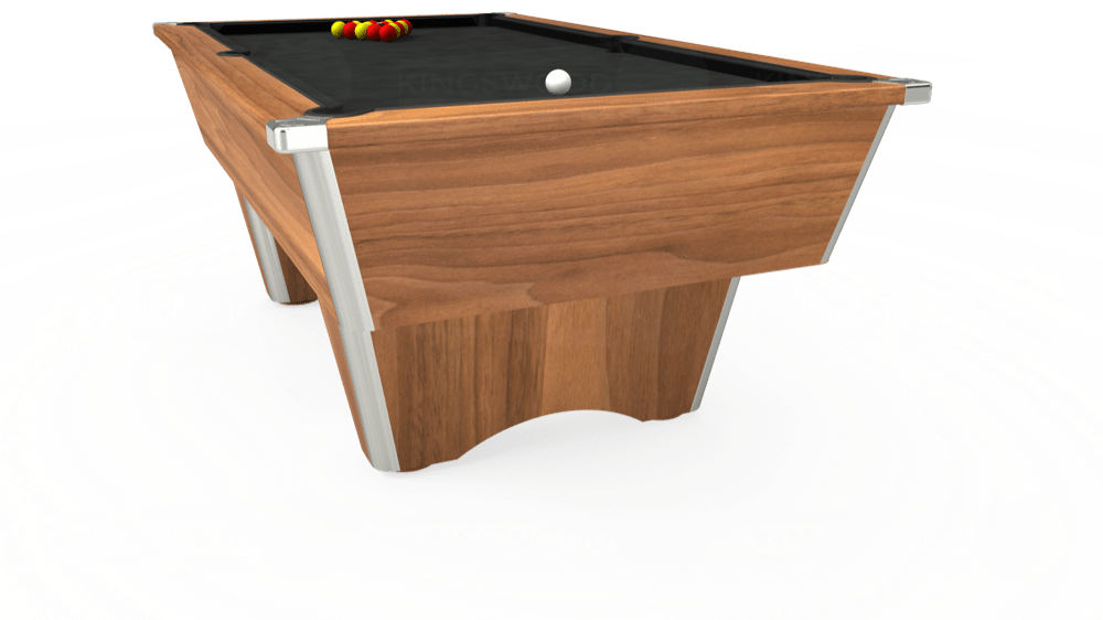 7ft Elite Free Play Pool Table in Light Oak with Standard Green cloth delivered and installed - £1,025.00
