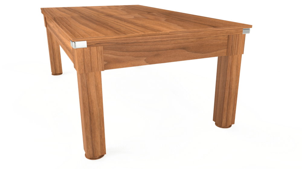 7ft Windsor Pool Dining Table in Light Walnut with Standard Green cloth delivered and installed - £1,050.00