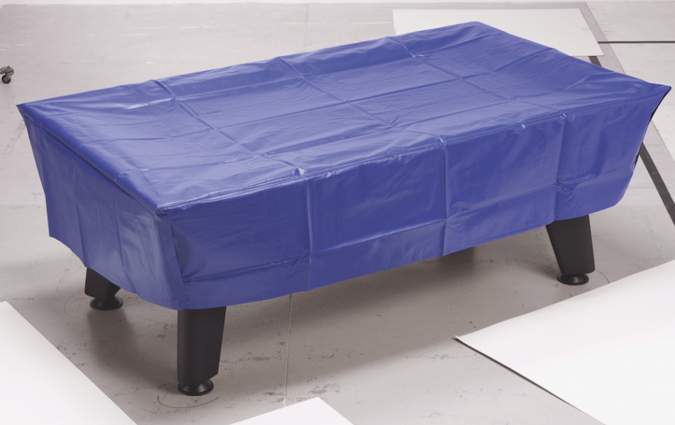 7ft Outback Free Play Pool Table in White with Hainsworth Elite-Pro Royal Blue cloth delivered and installed - £1,375.00